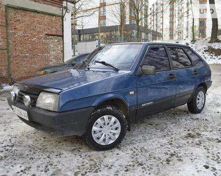 Синий ВАЗ 2109, объемом двигателя 0 л и пробегом 194 тыс. км за 1100 $, фото 1 на Automoto.ua
