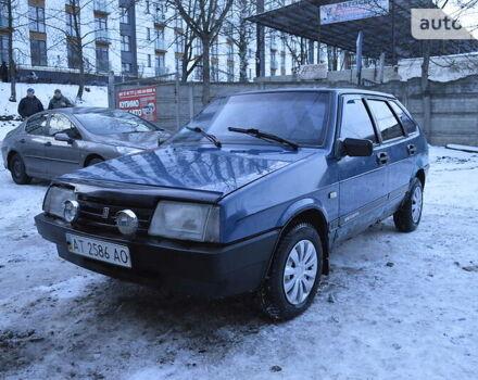 Синий ВАЗ 2109, объемом двигателя 1.5 л и пробегом 195 тыс. км за 1100 $, фото 1 на Automoto.ua