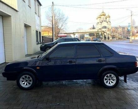 Синий ВАЗ 2109, объемом двигателя 1.5 л и пробегом 120 тыс. км за 1166 $, фото 1 на Automoto.ua