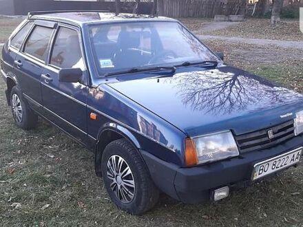 Синий ВАЗ 2109, объемом двигателя 1.5 л и пробегом 214 тыс. км за 1900 $, фото 1 на Automoto.ua
