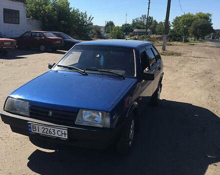 Синій ВАЗ 2109, об'ємом двигуна 1.5 л та пробігом 200 тис. км за 2500 $, фото 1 на Automoto.ua
