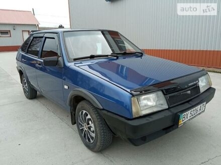 Синий ВАЗ 2109, объемом двигателя 1.6 л и пробегом 176 тыс. км за 2550 $, фото 1 на Automoto.ua