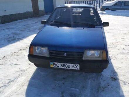 Синій ВАЗ 2109, об'ємом двигуна 2 л та пробігом 360 тис. км за 2360 $, фото 1 на Automoto.ua