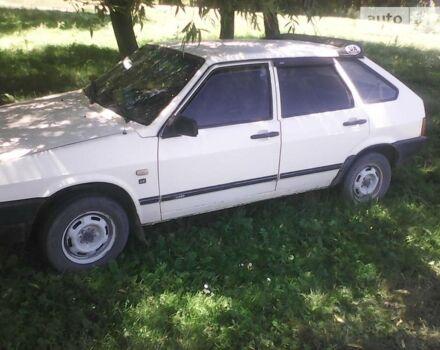 Белый ВАЗ 2109, объемом двигателя 1.1 л и пробегом 27 тыс. км за 1350 $, фото 1 на Automoto.ua