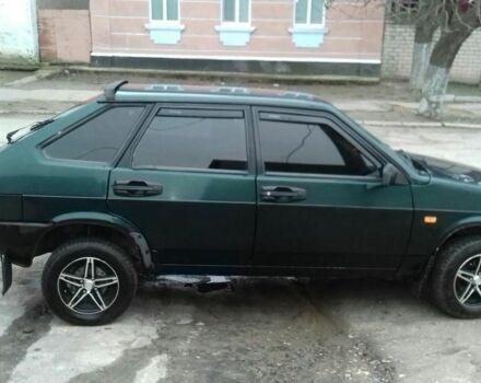 Зеленый ВАЗ 2109, объемом двигателя 1.5 л и пробегом 190 тыс. км за 2600 $, фото 1 на Automoto.ua