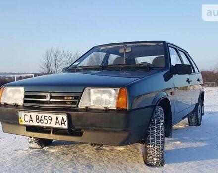 Зеленый ВАЗ 2109, объемом двигателя 0 л и пробегом 38 тыс. км за 3900 $, фото 1 на Automoto.ua