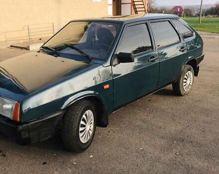 Зеленый ВАЗ 2109, объемом двигателя 0 л и пробегом 204 тыс. км за 2099 $, фото 1 на Automoto.ua