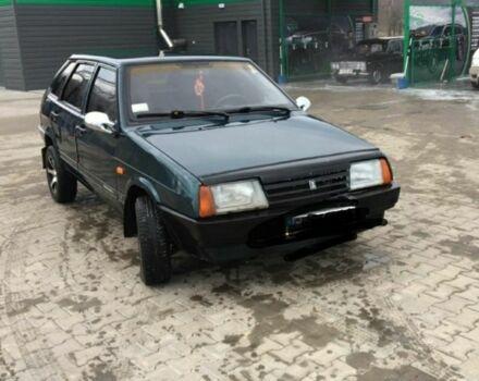 Зеленый ВАЗ 2109, объемом двигателя 15 л и пробегом 20 тыс. км за 1800 $, фото 1 на Automoto.ua