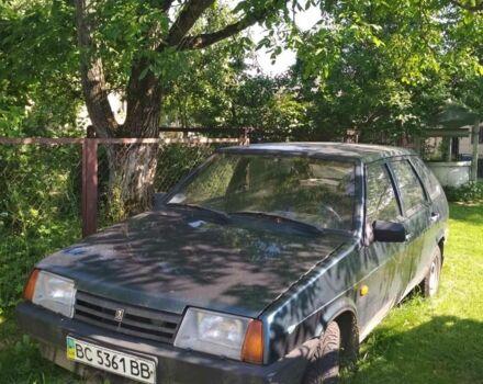 Зелений ВАЗ 2109, об'ємом двигуна 1.5 л та пробігом 180 тис. км за 2300 $, фото 1 на Automoto.ua