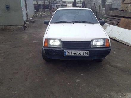 Белый ВАЗ 21099, объемом двигателя 1.3 л и пробегом 1 тыс. км за 1440 $, фото 1 на Automoto.ua