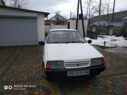 Белый ВАЗ 21099, объемом двигателя 1.5 л и пробегом 1 тыс. км за 1439 $, фото 1 на Automoto.ua