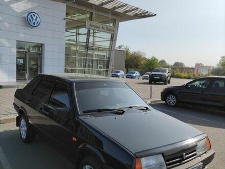 Черный ВАЗ 21099, объемом двигателя 1.5 л и пробегом 117 тыс. км за 4200 $, фото 1 на Automoto.ua