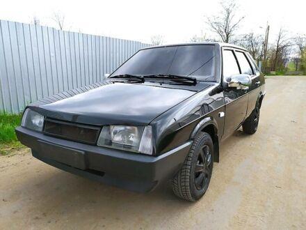 Чорний ВАЗ 21099, об'ємом двигуна 1.6 л та пробігом 150 тис. км за 3200 $, фото 1 на Automoto.ua