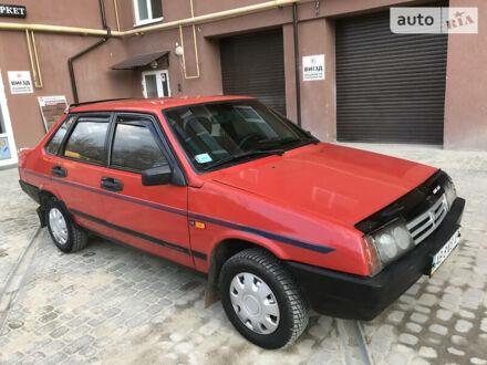 Красный ВАЗ 21099, объемом двигателя 1.5 л и пробегом 155 тыс. км за 2500 $, фото 1 на Automoto.ua