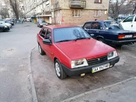 Червоний ВАЗ 21099, об'ємом двигуна 1.5 л та пробігом 93 тис. км за 2500 $, фото 1 на Automoto.ua