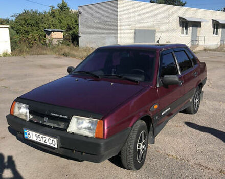 Червоний ВАЗ 21099, об'ємом двигуна 1.5 л та пробігом 262 тис. км за 2600 $, фото 1 на Automoto.ua