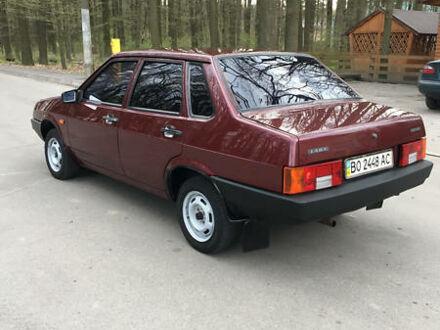 Червоний ВАЗ 21099, об'ємом двигуна 1.5 л та пробігом 120 тис. км за 3350 $, фото 1 на Automoto.ua
