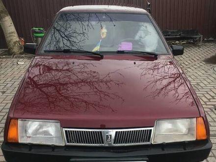 Красный ВАЗ 21099, объемом двигателя 1.5 л и пробегом 250 тыс. км за 2750 $, фото 1 на Automoto.ua