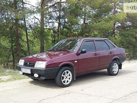 Красный ВАЗ 21099, объемом двигателя 1.6 л и пробегом 142 тыс. км за 3250 $, фото 1 на Automoto.ua