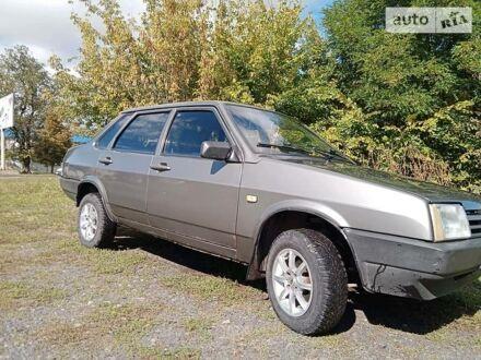 Серый ВАЗ 21099, объемом двигателя 1.5 л и пробегом 200 тыс. км за 2500 $, фото 1 на Automoto.ua