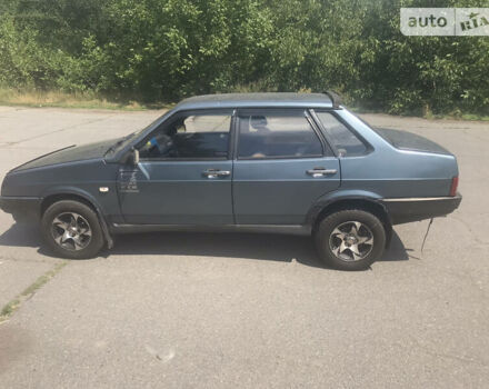 Сірий ВАЗ 21099, об'ємом двигуна 1.5 л та пробігом 165 тис. км за 2000 $, фото 1 на Automoto.ua