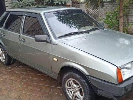 Сірий ВАЗ 21099, об'ємом двигуна 1.5 л та пробігом 200 тис. км за 1800 $, фото 1 на Automoto.ua