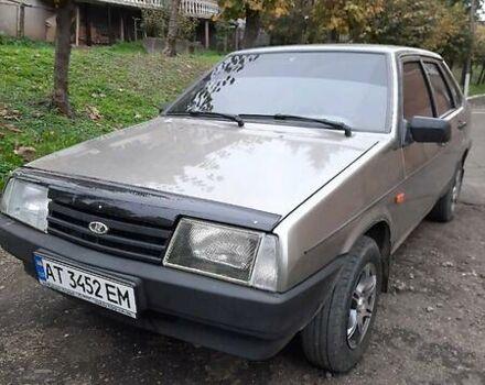 Серый ВАЗ 21099, объемом двигателя 1.6 л и пробегом 107 тыс. км за 2850 $, фото 1 на Automoto.ua