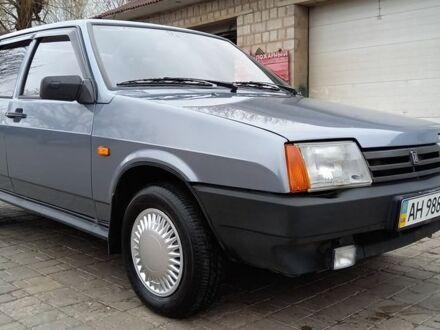 Серый ВАЗ 21099, объемом двигателя 1.6 л и пробегом 130 тыс. км за 3100 $, фото 1 на Automoto.ua