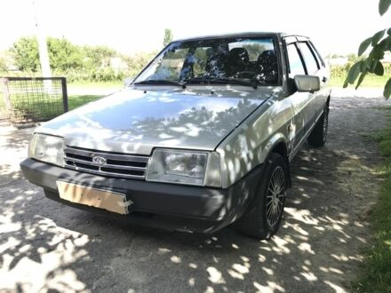 Сірий ВАЗ 21099, об'ємом двигуна 1.6 л та пробігом 155 тис. км за 3200 $, фото 1 на Automoto.ua