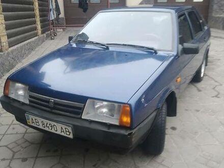 Синий ВАЗ 21099, объемом двигателя 1.5 л и пробегом 124 тыс. км за 2000 $, фото 1 на Automoto.ua