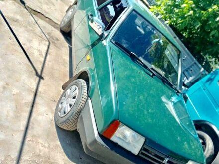Зеленый ВАЗ 21099, объемом двигателя 1.5 л и пробегом 45 тыс. км за 2500 $, фото 1 на Automoto.ua