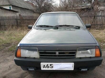 Зеленый ВАЗ 21099, объемом двигателя 1.5 л и пробегом 180 тыс. км за 2400 $, фото 1 на Automoto.ua