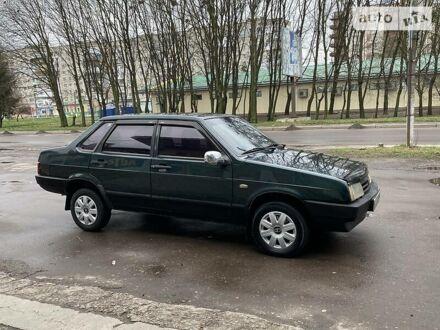 Зелений ВАЗ 21099, об'ємом двигуна 1.5 л та пробігом 174 тис. км за 2100 $, фото 1 на Automoto.ua