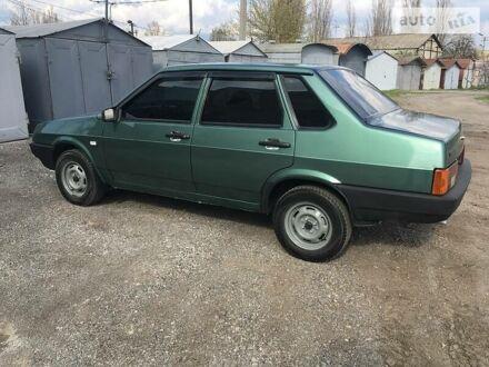Зелений ВАЗ 21099, об'ємом двигуна 1.5 л та пробігом 170 тис. км за 2800 $, фото 1 на Automoto.ua