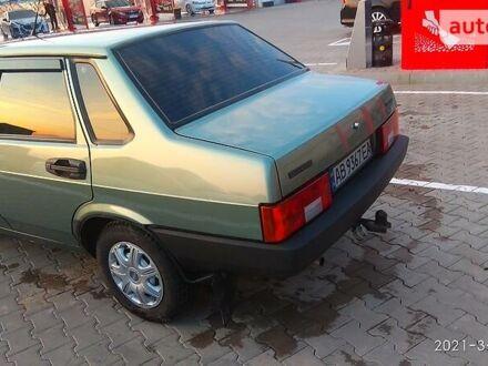 Зеленый ВАЗ 21099, объемом двигателя 1.5 л и пробегом 102 тыс. км за 3600 $, фото 1 на Automoto.ua