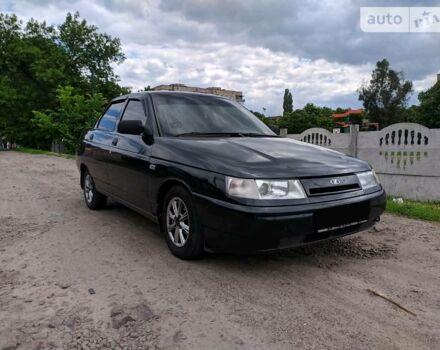 Черный ВАЗ 2110, объемом двигателя 1.6 л и пробегом 120 тыс. км за 3700 $, фото 1 на Automoto.ua