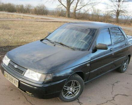 Черный ВАЗ 2110, объемом двигателя 1.6 л и пробегом 98 тыс. км за 3500 $, фото 1 на Automoto.ua