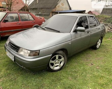 Серый ВАЗ 2110, объемом двигателя 1.6 л и пробегом 189 тыс. км за 2500 $, фото 1 на Automoto.ua