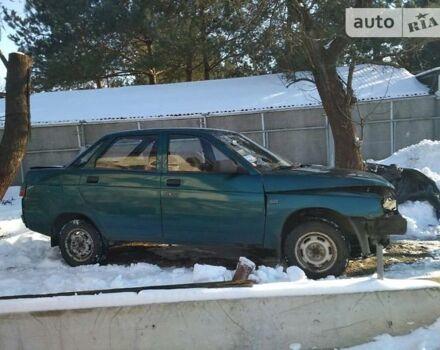Зелений ВАЗ 2110, об'ємом двигуна 1.6 л та пробігом 100 тис. км за 1199 $, фото 1 на Automoto.ua