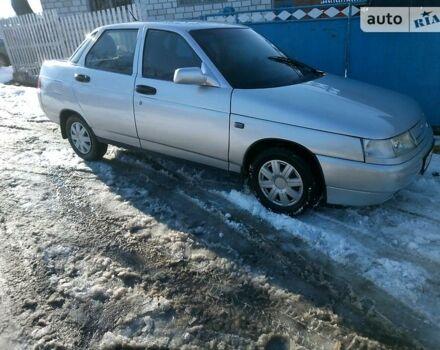 Сірий ВАЗ 2110, об'ємом двигуна 1.5 л та пробігом 140 тис. км за 2850 $, фото 1 на Automoto.ua