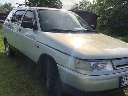 Серый ВАЗ 2111, объемом двигателя 1.5 л и пробегом 105 тыс. км за 2600 $, фото 1 на Automoto.ua