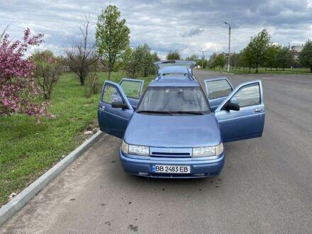 Синий ВАЗ 2111, объемом двигателя 1.5 л и пробегом 80 тыс. км за 2200 $, фото 1 на Automoto.ua