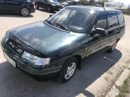 Зеленый ВАЗ 2111, объемом двигателя 1.5 л и пробегом 277 тыс. км за 1999 $, фото 1 на Automoto.ua