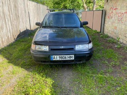 Черный ВАЗ 2112, объемом двигателя 1.6 л и пробегом 203 тыс. км за 2250 $, фото 1 на Automoto.ua