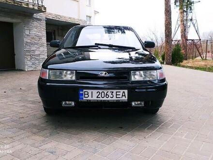 Черный ВАЗ 2112, объемом двигателя 1.6 л и пробегом 200 тыс. км за 3450 $, фото 1 на Automoto.ua