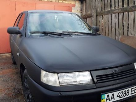 Черный ВАЗ 2112, объемом двигателя 1.5 л и пробегом 150 тыс. км за 2767 $, фото 1 на Automoto.ua