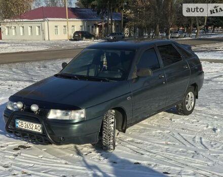Зеленый ВАЗ 2112, объемом двигателя 1.6 л и пробегом 160 тыс. км за 3600 $, фото 1 на Automoto.ua