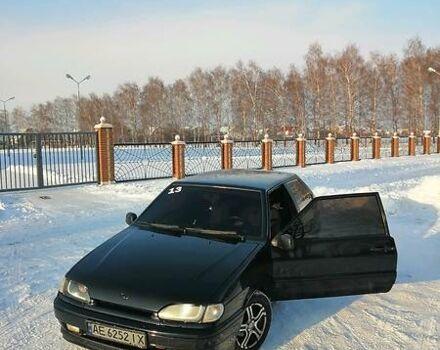 Черный ВАЗ 2113, объемом двигателя 1.6 л и пробегом 159 тыс. км за 3400 $, фото 1 на Automoto.ua