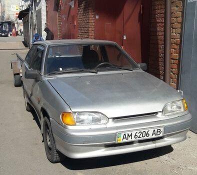 Серебряный ВАЗ 2113, объемом двигателя 1.5 л и пробегом 75 тыс. км за 2000 $, фото 1 на Automoto.ua
