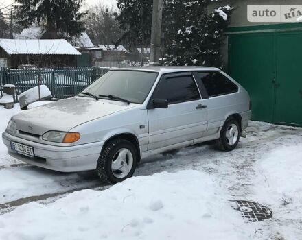 Серый ВАЗ 2113, объемом двигателя 1.6 л и пробегом 95 тыс. км за 3500 $, фото 1 на Automoto.ua